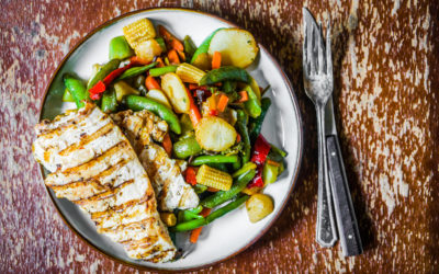 Lemon & Rosemary Chicken with Vegetables