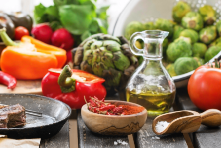 Frying your vegetables in olive oil is better than boiling for your health