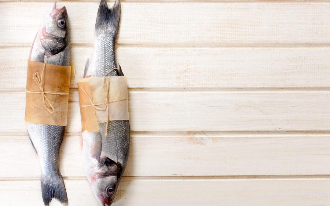 Cajun Fish on Sweet Potato Mash