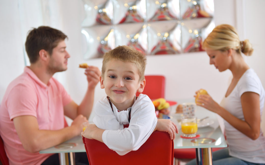 The importance of setting healthy eating habits early in life