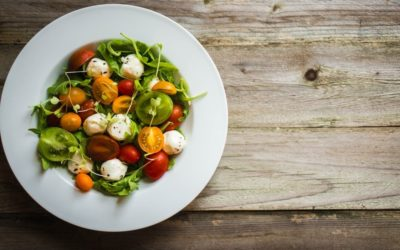 Mixed Tomato and Rocket Salad